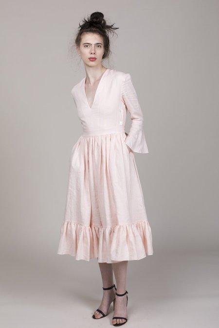 Loup Charmant Sea Island Dress - Baby Pink