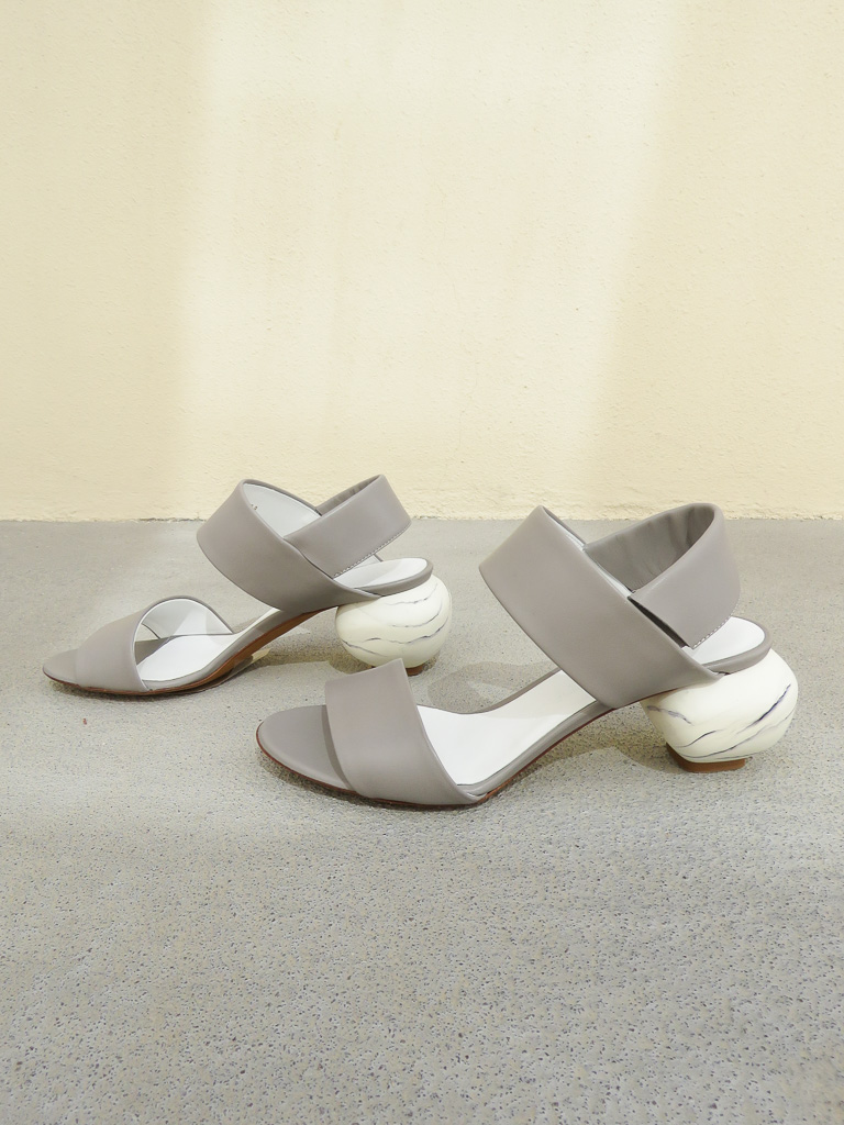 Gray Matters Marmo Slingback Grigio Garmentory