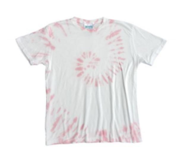 Jungmaven Tie Dye Baja 7oz Tee - Eraser Pink