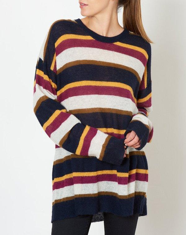 8b962153e76 6397 Stripe Mohair Crewneck sweater - Stripe