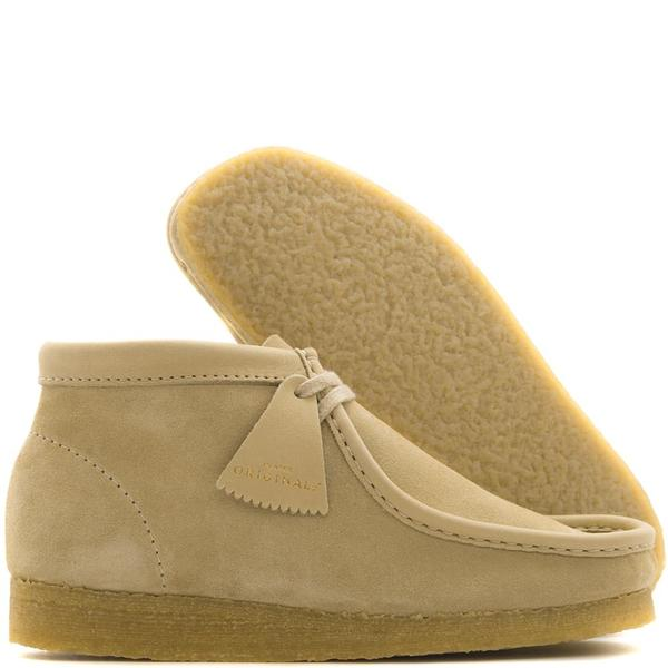 d5b757df Deadstock.ca Clarks Wallabee Boot Made in Italy / Maple