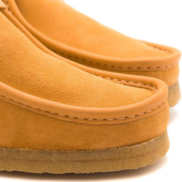 18a9a3ea Clarks Originals Clarks Wallabee Boot Made in Italy / Orange