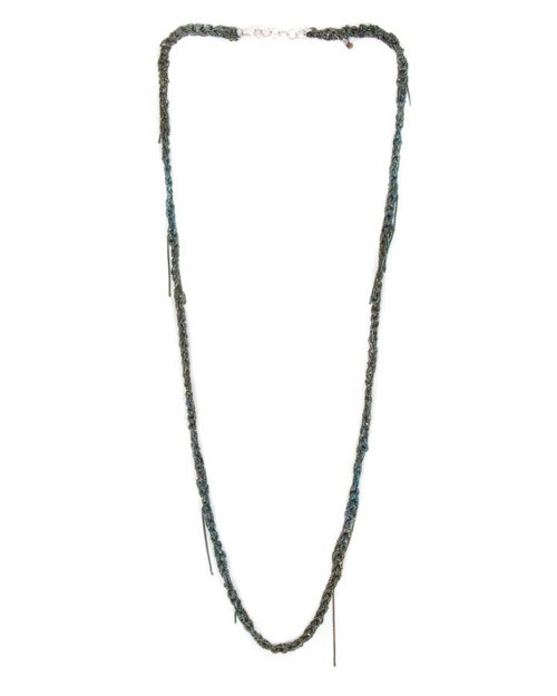 Arielle De Pinto 33 Necklace in Army