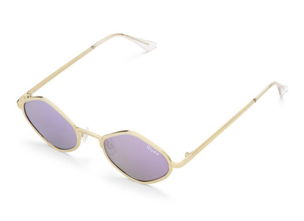 9625d61864 QUAY Australia QUAY PURPLE HONEY - Gold Purple Lens