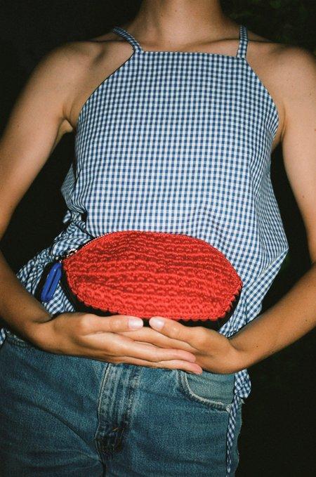 Rachel Comey Lyndon Pouch - Red/Black