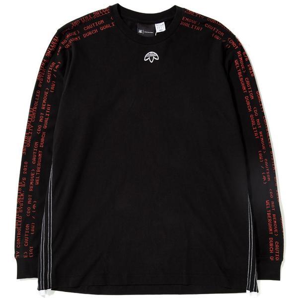 e16161764764 Adidas Originals by Alexander Wang Long Sleeve T-Shirt - Black ...