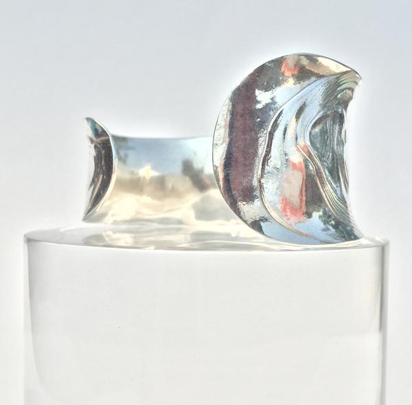 Leigh Miller Sterling Silver Anticlast Bracelet