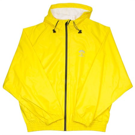 Packmack #400 Parachute Full Zip Rain Jacket - Yellow Cab