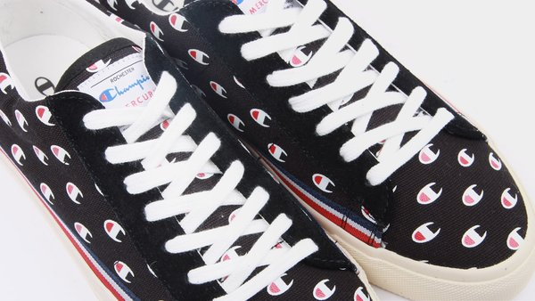 9a70eb9ff10 Champion Europe Mercury Low Canvas Sneakers - Black C Logo