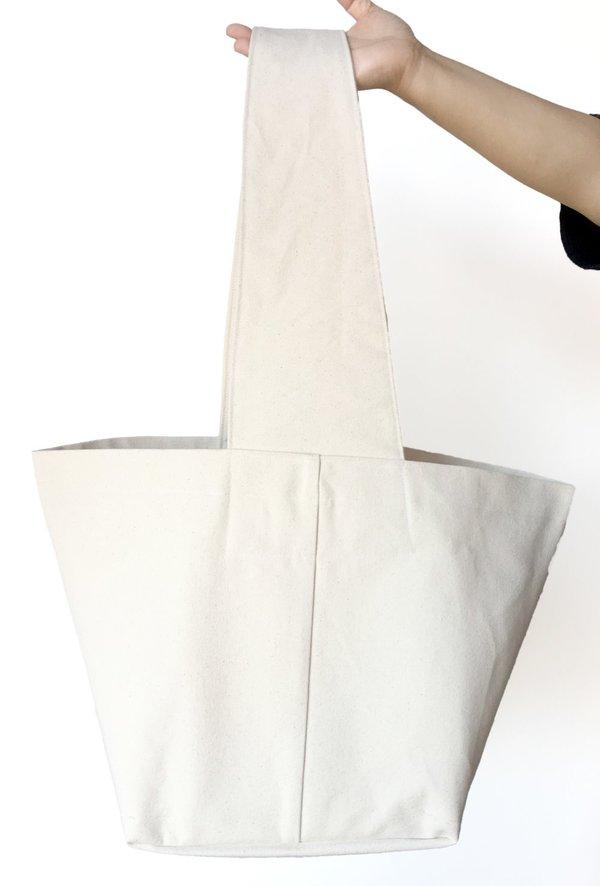 38e4f5663d3 Sunja Link Oversized Canvas Tote Bag on Garmentory