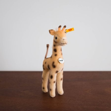 Kids Steiff Greta Giraffe Collectible Plush Toy