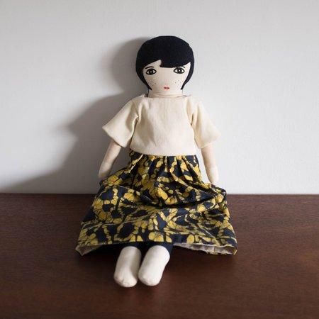 Kids Le Train Fantome Lumi Doll - Black and Yellow Dress