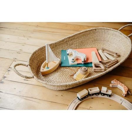 kids Shop Merci Milo Nyla Diaper Changing Mat Basket with Cotton Insert