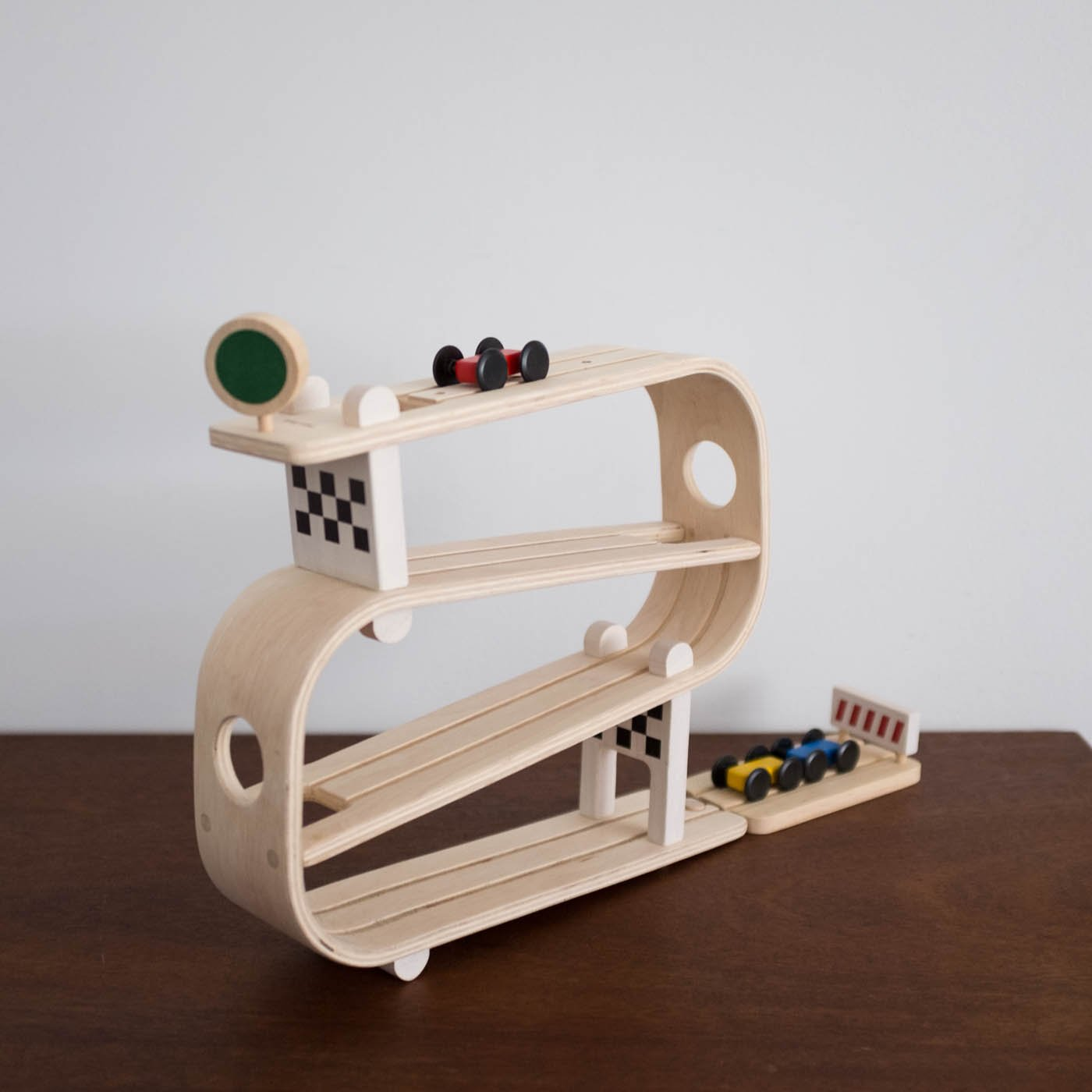 Kids Plan Toys Wooden Ramp Racer