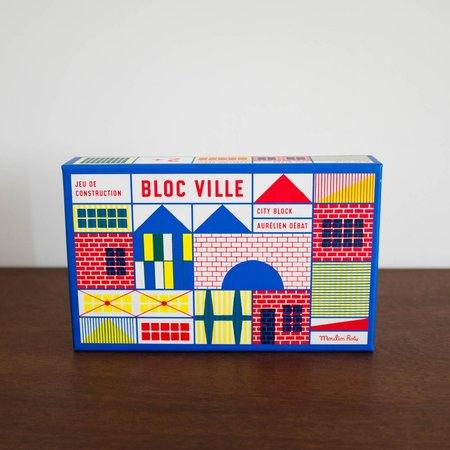 Kids Merci Milo Bloc Ville Building Blocks Set of 40 Pieces