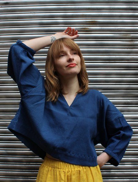 Ilana Kohn Ava Shirt - Dark Blue