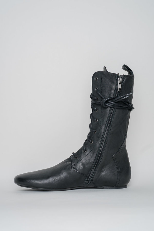 Ann Demeulemeester High Zipped Boots   Black by Garmentory