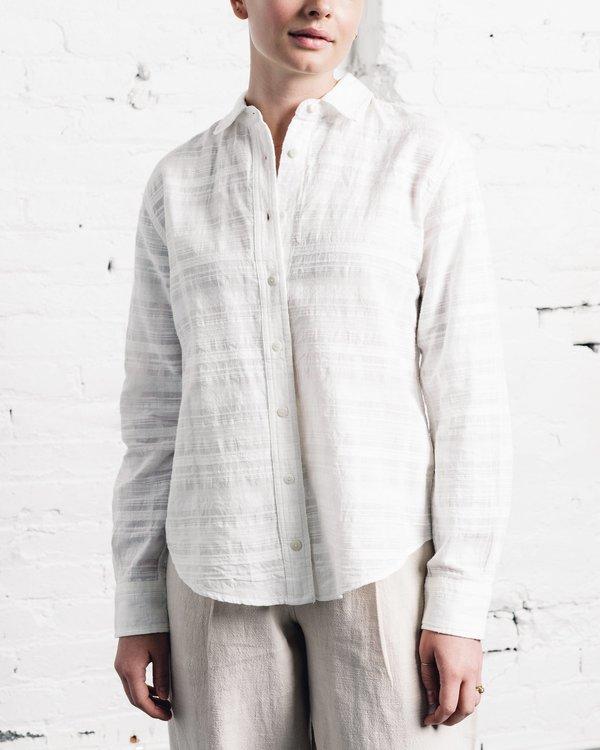 8e9ff7c143e65 Mara Hoffman Margot Shirt - Textured Jacquard | Garmentory