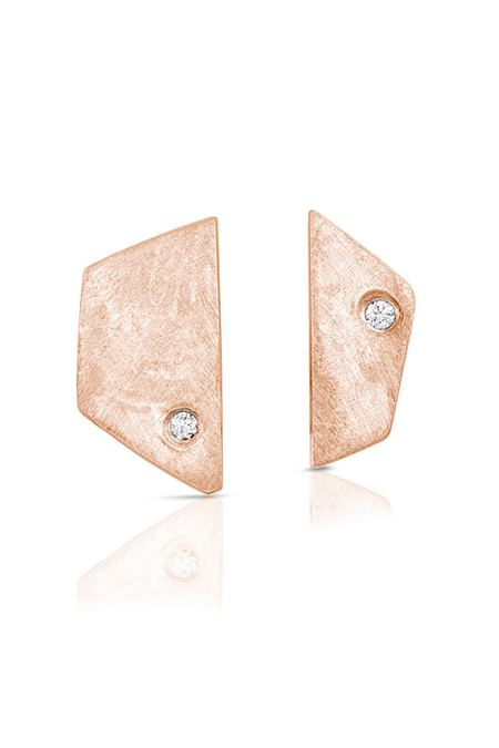 Enji Rose Gold Paloma Earrings