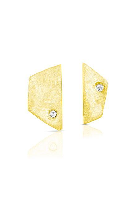 Enji Yellow Gold Paloma Earrings
