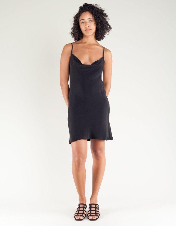 7319ec74af7f Lacausa Bias Cut Mini Dress - Tar   Garmentory