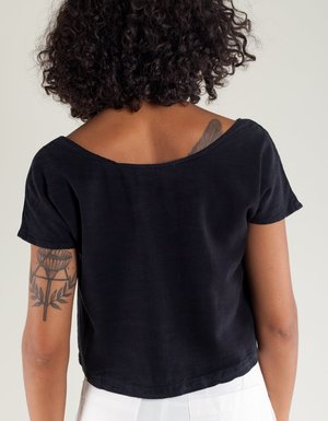 Lacausa Reversible Silk Top