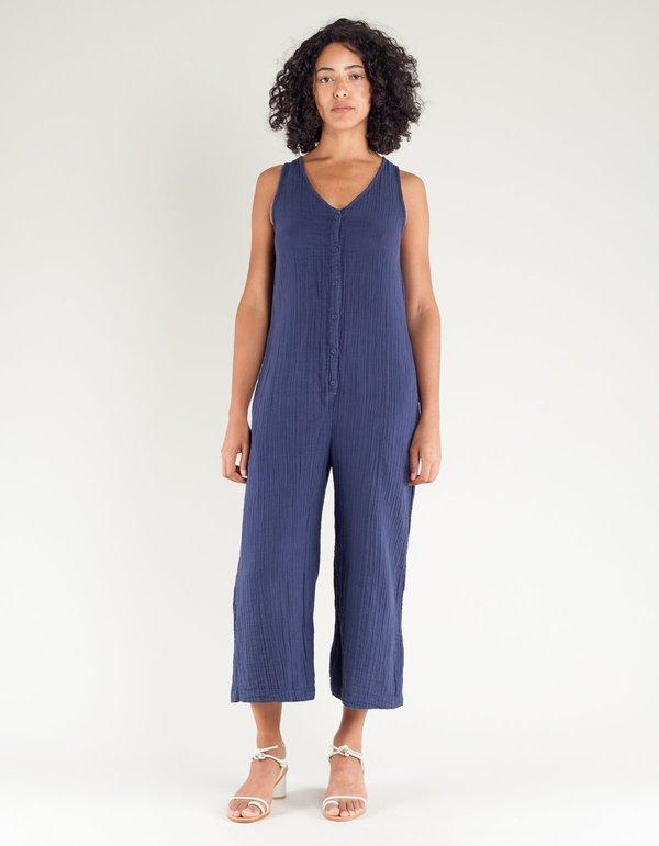 65d733646055 Lacausa Wildflower Jumpsuit - Velvet