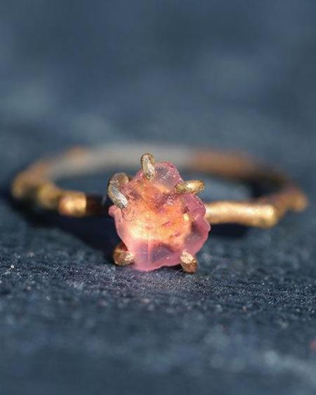 Variance California Tourmaline Small Stone Ring