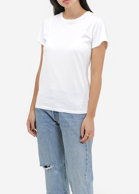 Baserange Off-White Cotton Tee Shirt