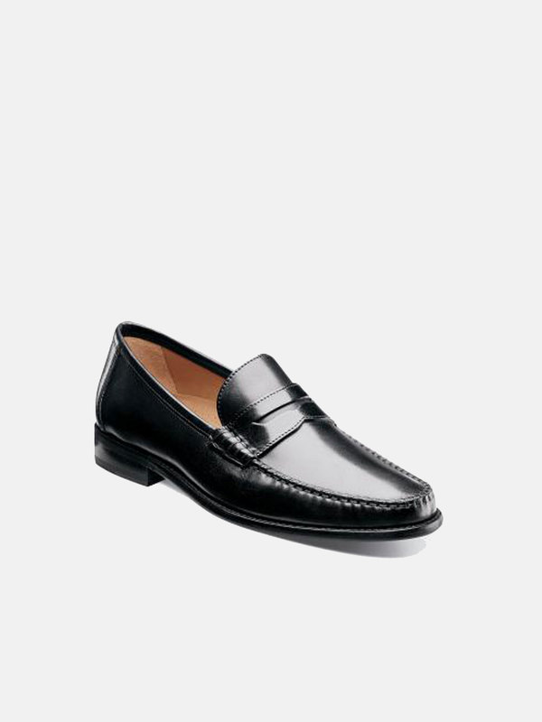 a81e0171208 Florsheim Brookfield Penny Loafer - Black Calf. sold out. Florsheim