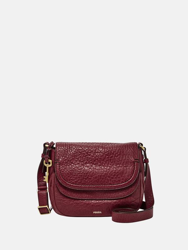 9790092136c FOSSIL Peyton Crossbody Bag - Wine | Garmentory