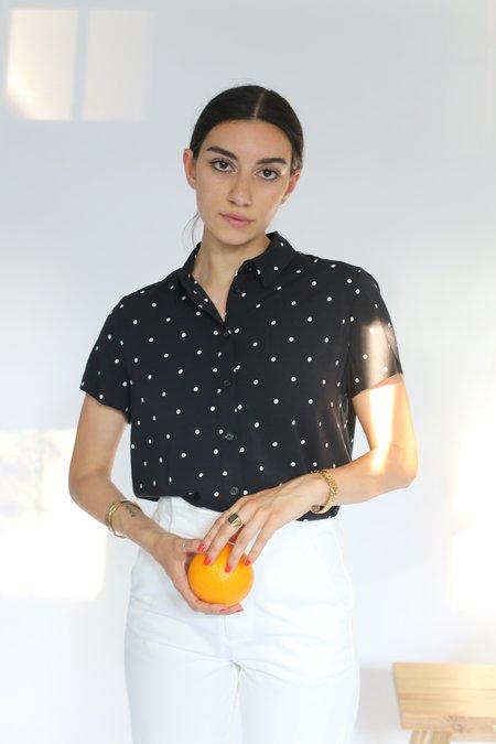 Samsoe & Samsoe Maj Shirt - Point Noir