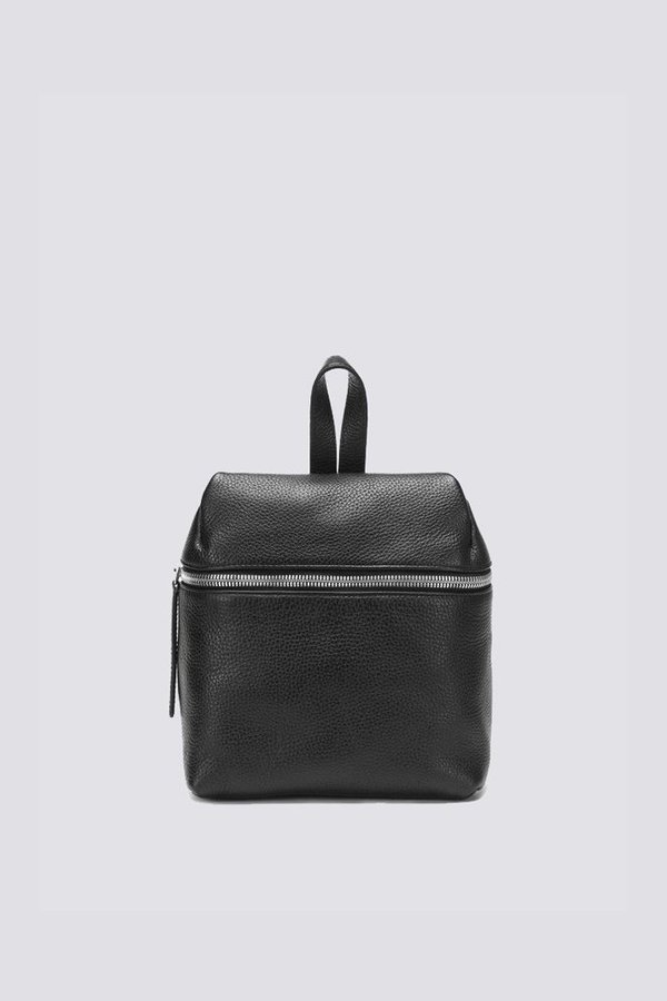 ac2ebd1261 KARA Small Pebbled Leather Backpack