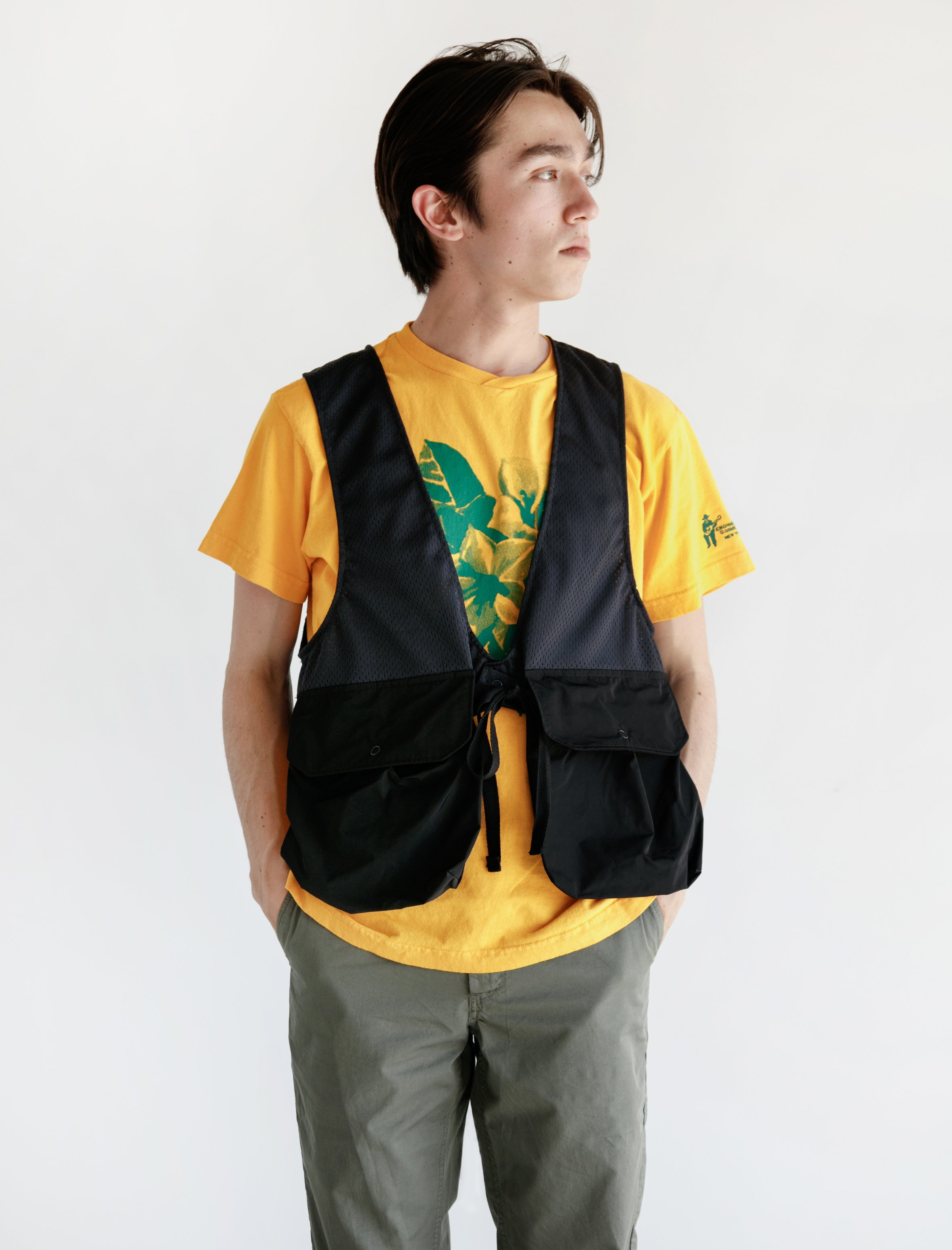 engineered garments cover vest engineered garments fowl vest