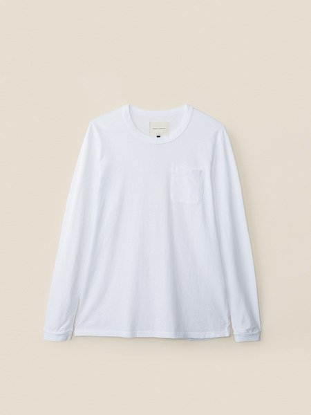 General Admission California Pocket Tee L/S - White