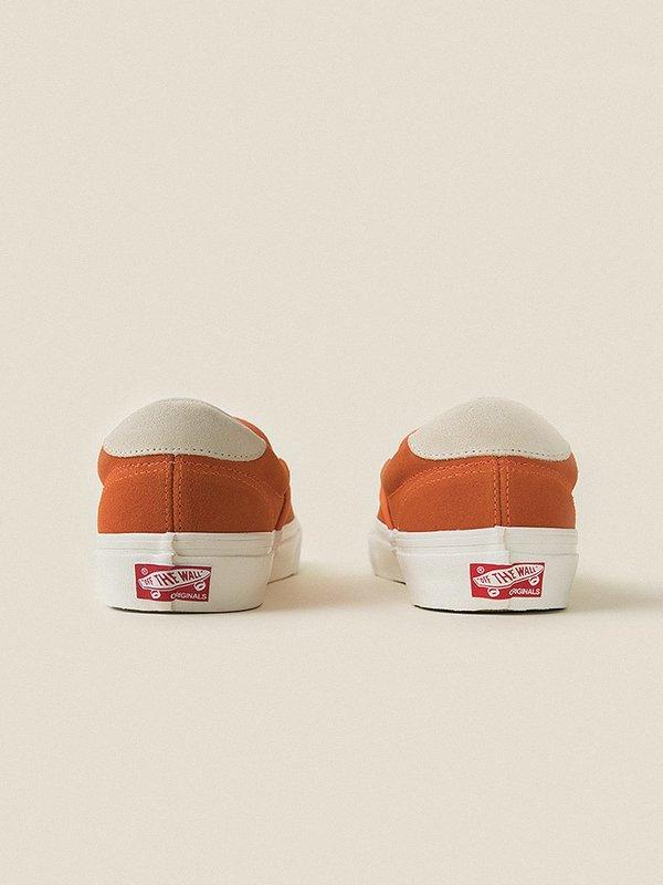1c14c02ecb VANS VAULT OG Slip-On 59 LX (Suede) Red Orange Marshmallow. sold out. VANS