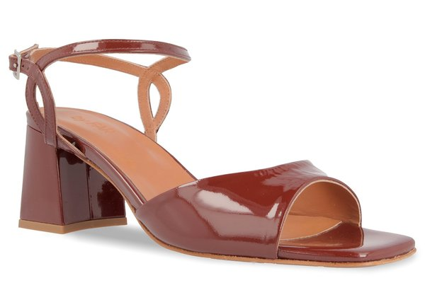 By Far Alana - Brown Patent Leather