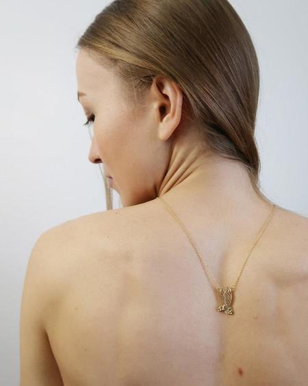 Invidiosa Jewelry Flying Bee Necklace