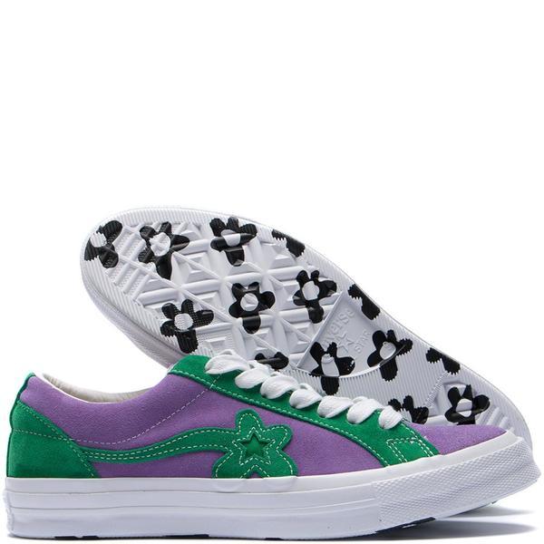 309c9f786d4e Unisex Converse x Golf Le Fleur One Star GLF - Purple Heart