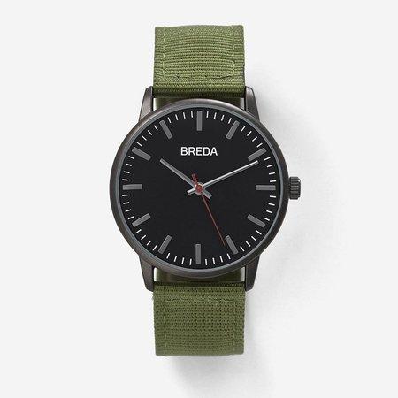 Breda Valor Watch - GREEN