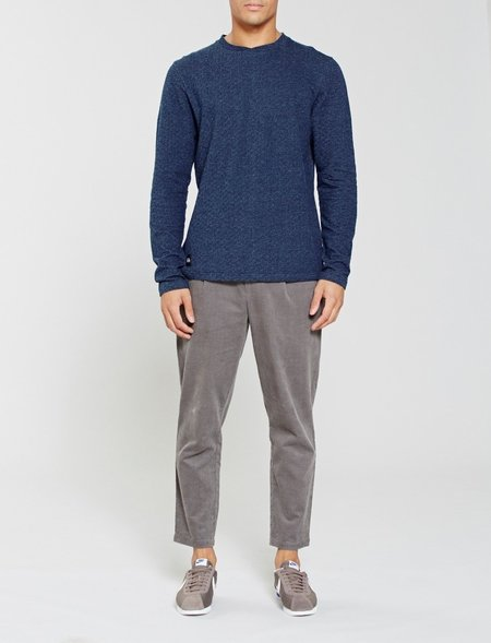Native Youth Belmont Sweatshirt - Indigo