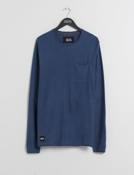 Native Youth Lewes Sweatshirt - Navy