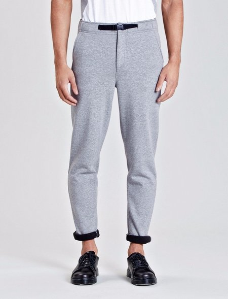 Native Youth Stratton Slim Fit Jogging Bottoms - Grey