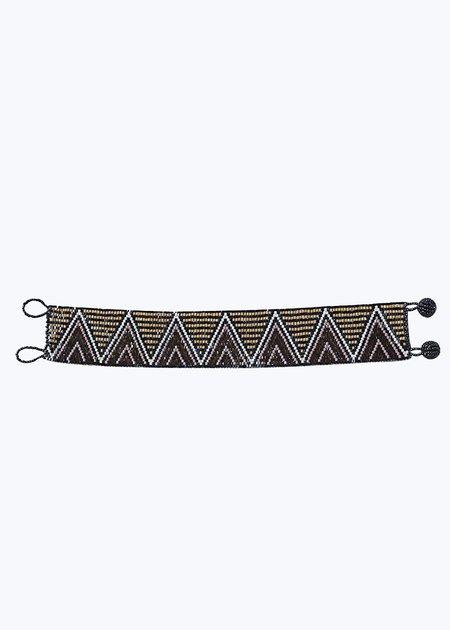Imported Huichol Triangle Bracelet