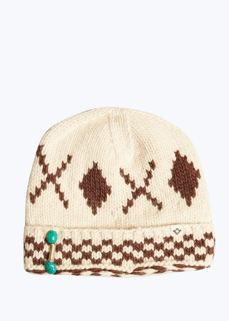 Bsbee Knit Hat - Natural/Brown
