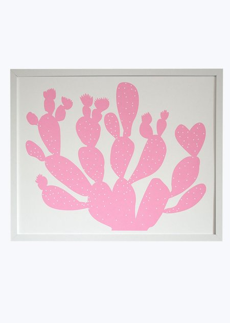 Banquet Atelier & Workshop Pink Opuntia Print