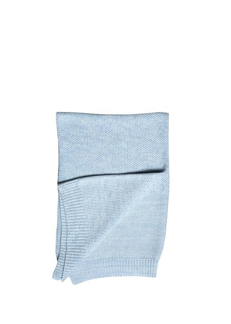 Kids La Petite Collection Knitted Blanket - Sky