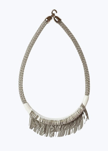 Orly Genger by Jaclyn Mayer White Kent Necklace