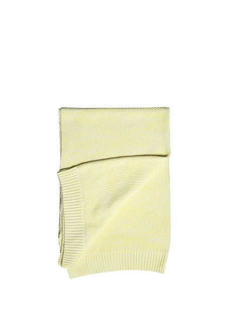 Kids La Petite Collection Knitted Blanket - Yellow