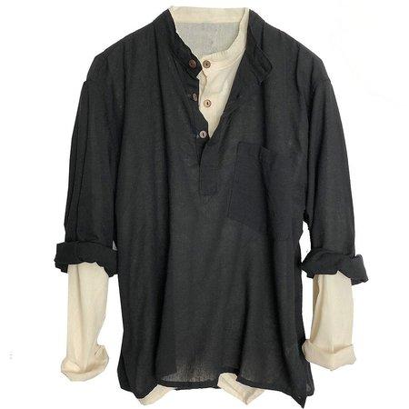 Alter Brooklyn Kurta Shirt - black